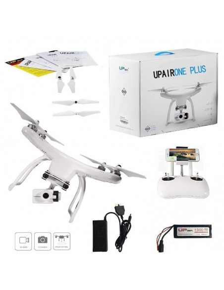 Up Air Upair One Plus APP Control WIFI FPV With 12MP 2.7K HD Camera 2-Axis Gimbal Brushless RC Drone Quadcopter RTF
