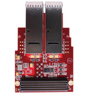 Модуль HTG-FMC-X2QSFP+
